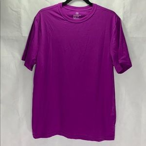 Athletic Works size large tee purple 42-44